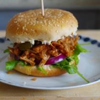 Pulled Jackfruit Burger - meine vegane Alternative